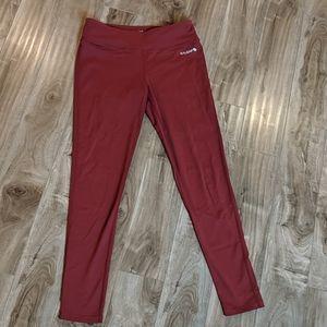 ❄️ 3/$25 Maroon Burgundy Athletic Leggings